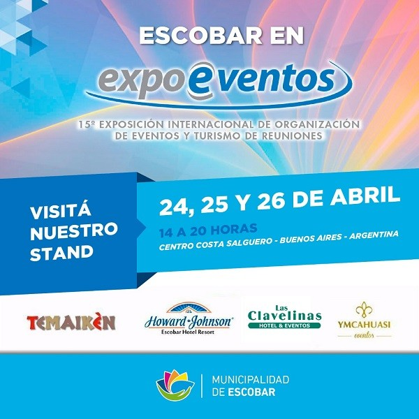 Escobar en Expo Eventos 2018
